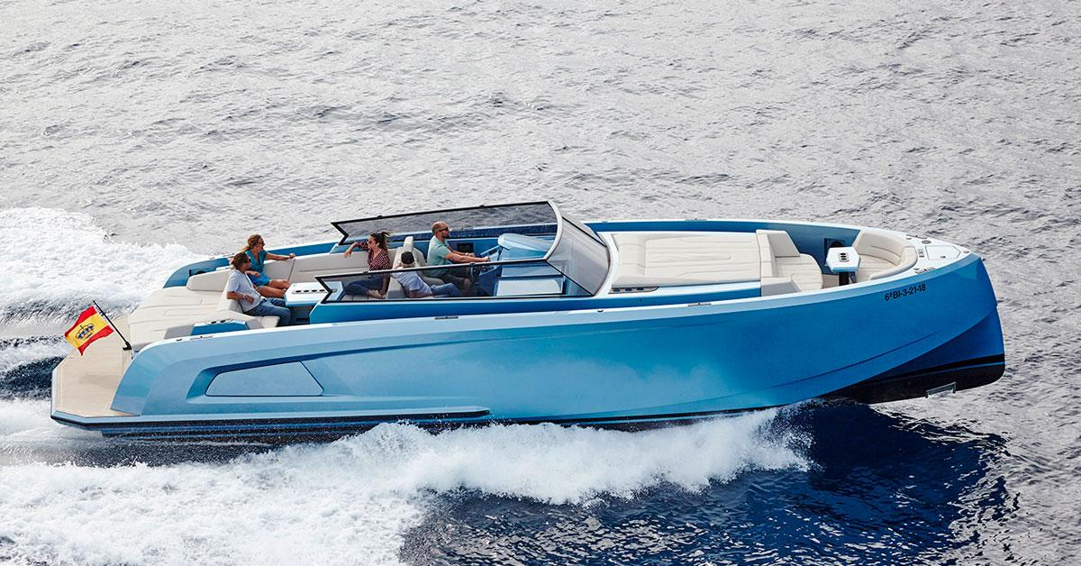 Meet 'SAL', our Vanquish VQ43 Mk2 boat for rent in Ibiza | Blog